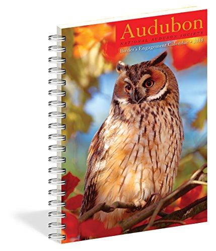 Audubon Birder's Engagement Calendar 2018 cover