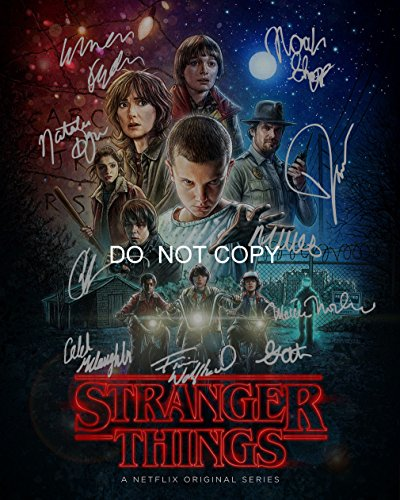 "Stranger Things CAST Reprint SIGNED 8x10"" Photo ALL 10#1 RP Netflix TV Show from Loa_Autographs"