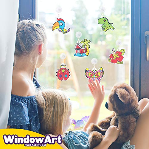 Window paint stickers kit