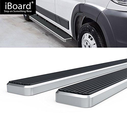 Off Roader for 2014-2018 Dodge ProMaster Full Size Van 136//159 Wheelbase Nerf Bar | Side Steps 5 Black Eboard Running Boards