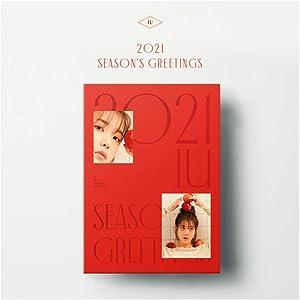 ui IU 2021 Seasons Greetings (incl. Random Transparent Photocard Set)