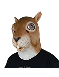 LarpGears Latex Mask Full Head Halloween Costume Party Animal head Mask