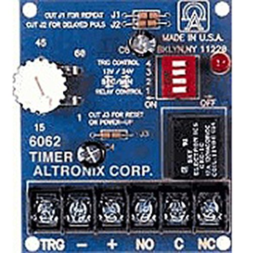 Altronix 6062 Timer Module 12/24VDC Operation by FAS