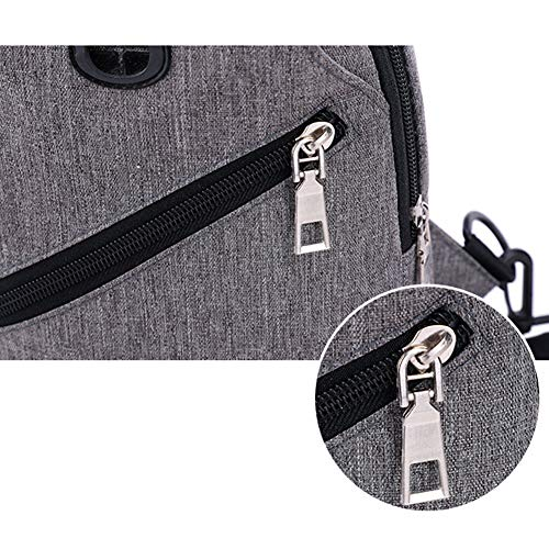 With For Men Backpack Usb Bag Sling shoulder Goal Charging crossbody amp; Bags Women Blue Wind Port q0aw4gP