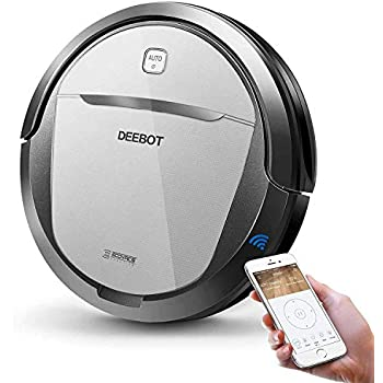 ECOVACS DEEBOT M80 Pro Robot Vacuum Cleaner with Mop and Water Tank Attachment, Brush Roll Attachment, for Pet Hair, Fur, Dirt, Stains, Thin Carpet, ...