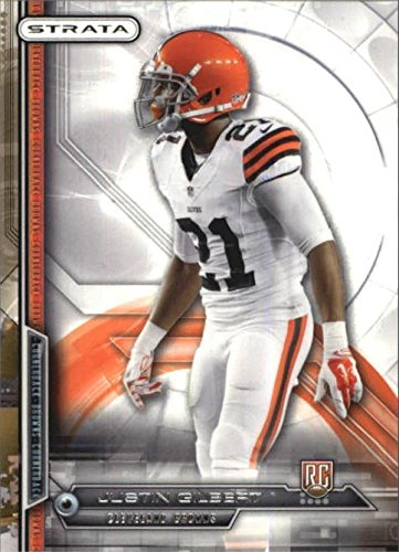 Justin Gilbert Football Card (Cleveland Browns, Oklahoma State) 2014 Topps Strata #183 - Justin Brown Oklahoma