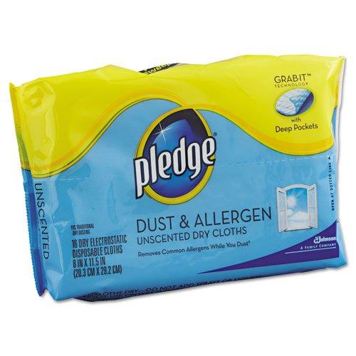 pledge-dust-allergen-dry-refill-cloths-white-8-x-11-1-2-32-pack-six-packs-of-32-cloths192-cloths-per