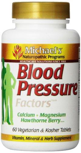 Michael's Naturopathic Programs Blood Pressure Factors Nutritional Supplements, 60 Count For Sale