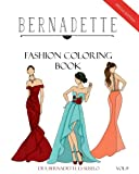 BERNADETTE Fashion Coloring Book Vol.9: Red Carpet Gowns and dresses (Volume 9)