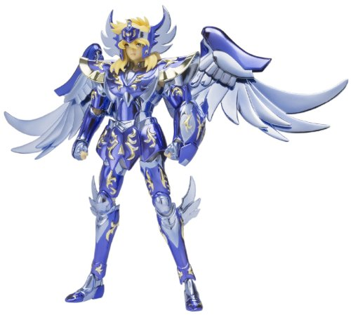 Bandai Tamashii Nations Saint Myth Cloth 10th Anniversary Version Cygnus Hyoga God Cloth Action Figure