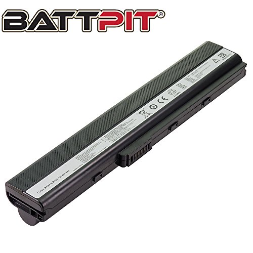 BattpitTM Laptop/Notebook Battery Replacement for Asus A32-K52 (6600mAh / 71Wh)