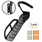 HOMEE Heavy Duty Bicycle Bike Wall Hook Mount Rack Holder Hanger Stand Bike Storage System for Garage/Shed with Screw