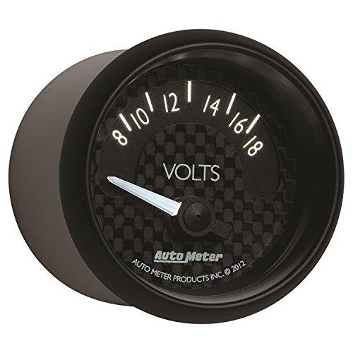 Auto Meter 8092 GT Series Electric Voltmeter Gauge