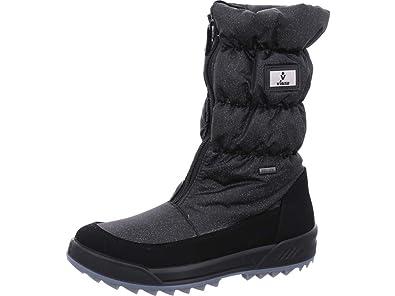 Vista Damen Winterstiefel Snowboots anthrazitSilber
