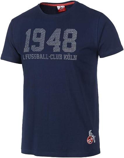 Unbekannt 1 M-5XL Gr FC K/öln Herren T-Shirt Henleinstr