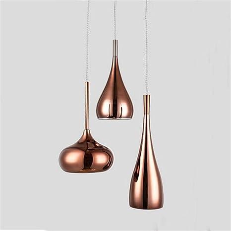 Combinación moderna de oro rosa de la lámpara de techo Foco ...
