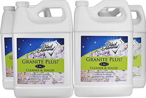 GRANITE PLUS! 2 in 1 Cleaner & Sealer for Granite, (Liquid Crystal Filter)