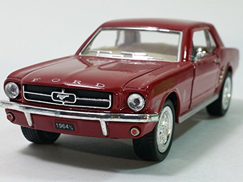 Kinsmart Rust 1964 1/2 Ford Mustang Hardtop 1/34 Scale Diecast Sports Car