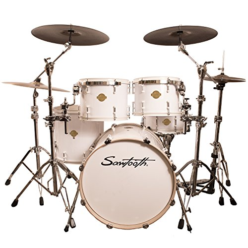 Sawtooth ST-COM-5PC-WHT Command Series 5-Piece Shell Pack, White -