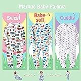 Dinosaur/Car/Anchor Baby Boys' Footed Pajama