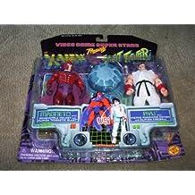 Video Game Super Stars Presents X-Men VS. Street Fighter Capcom, Magneto Vs. Ryu by Toy Biz