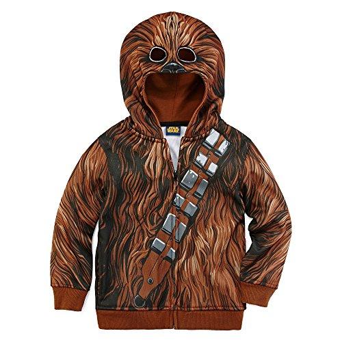 Chewbacca Costume Hoodie (Star Wars⢠Chewbacca Fleece Costume Hoodie - Presc)