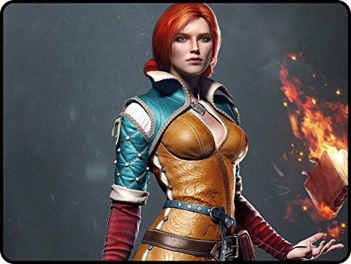 Price comparison product image 5326173SA778714151A5 Customized Triss Merigold The Witcher 3: Wild Hunt 325*245*5mm(12.80*9.66*0.2inch) Resistent Large Gaming Mouse Pads Customized Mouse Pad's Shop