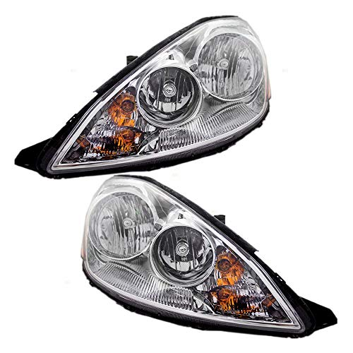 Driver and Passenger Halogen Headlights Headlamps Replacement for Toyota Van 81150-AE030 81110-AE030 AutoAndArt