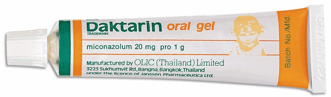 10g Daktarin Oral Gel Miconazole |  Prevent and Treat Fungal Infections of the Mouth, Throat, Stomach or Intestines