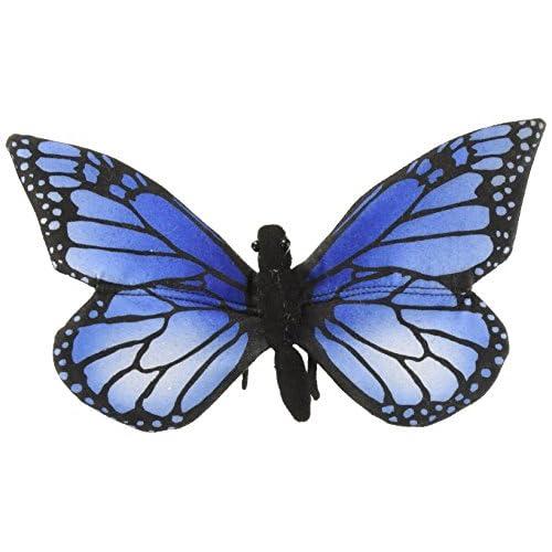Hansa Peluche Papillon Bleu 8/14/13cmL