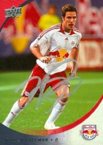 Autograph Warehouse 70966 Hunter Freeman Autographed Soccer Card Mls Soccer (Mls Soccer 2008)