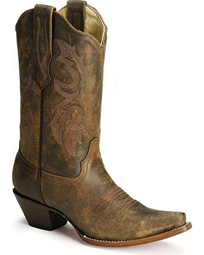 Corral Boots Women's C2033 Brown 7 B US