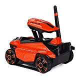 toy transmission - DraWaoy WIFI HD Image Real-time Transmission RC Car Spy Military Video Tank Car Children's Toys (Red)