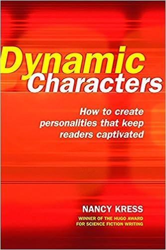 Amazoncom Dynamic Characters 9781582973197 Nancy Kress Books