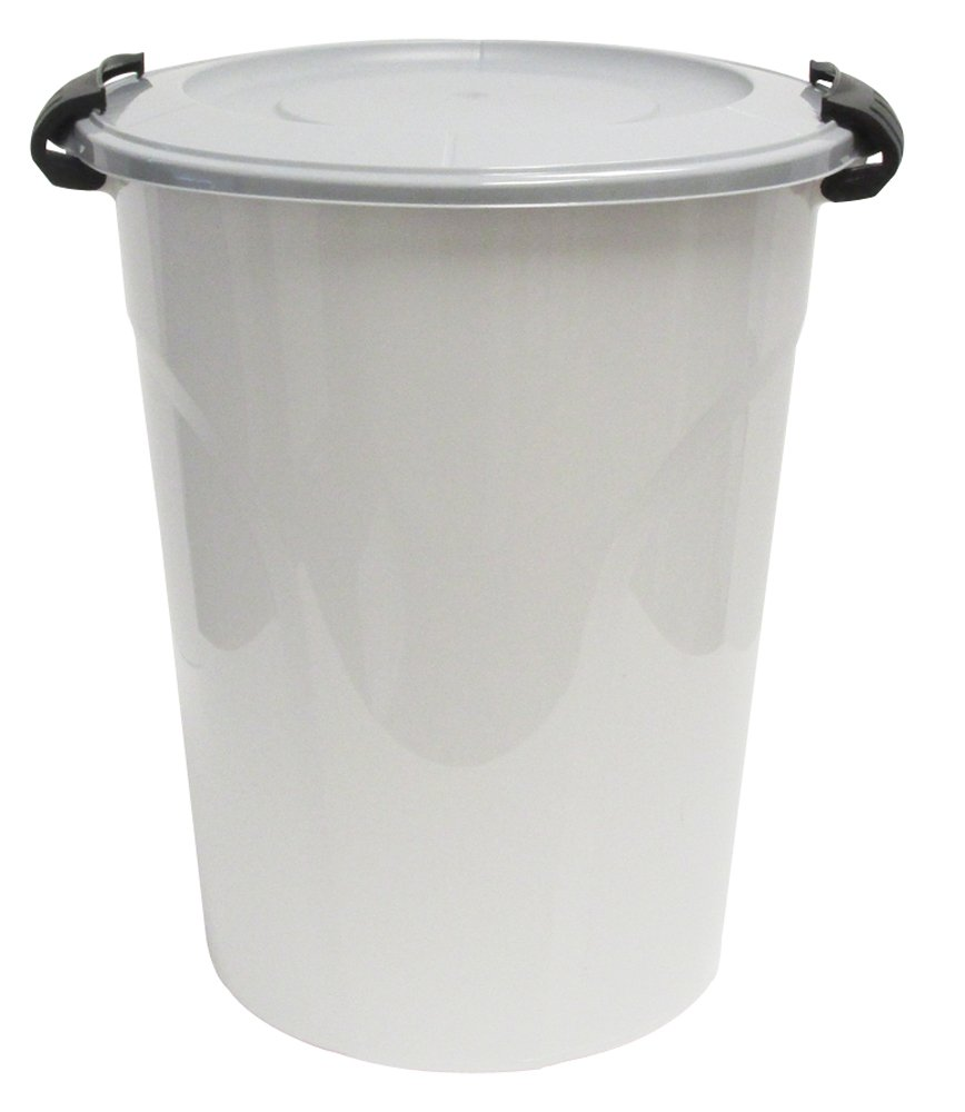 United Solutions BA0109 24-Quart Bulk Storage Container with Double Lock Lid Capacity, 6 Gallon
