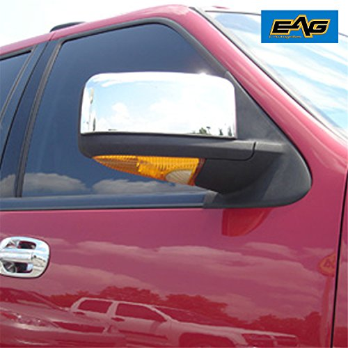 EAG 03-06 Ford Expedition / 03-06 Lincoln Navigator Mirror Cover ABS Triple Chrome Plated