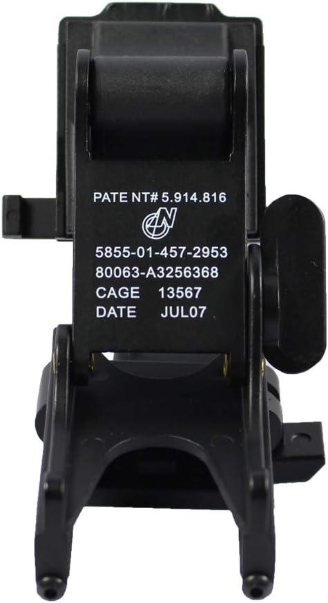 WLXW Accesorios de Casco Pistola de Aire T/áctico Kit de Instalaci/ón de Casco Militar Casco Instalaci/ón de NVG Gafas de Visi/ón Nocturna PVS14 PVS7