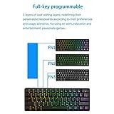 GK61 Mechanical Gaming Keyboard - 61 Keys Multi