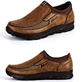 Maizun Large Size Loafer Shoes for Men Walking Shoes Fashionable and succinct Leisure Business Work Shoes