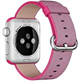 For Apple Watch band nylon strap watchbands 38mm With Adapter