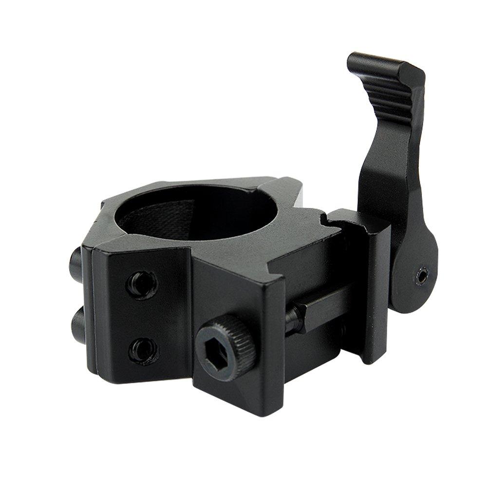 passend f/ür mehrere Gr/ö/ßen UniqueFire Halterung f/ür Taschenlampe f/ür Zielfernrohr M2006-1x2 mit Schnellspanner M2006-1x2 Montage-Werkzeug