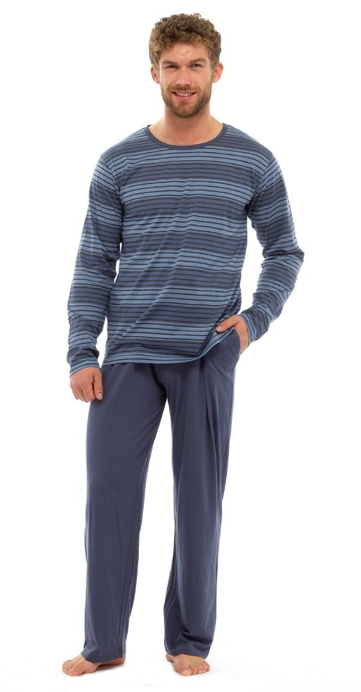 Strong Souls Mens Jersey Cotton Pyjamas Pjs