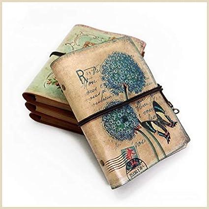 Stationery Leather Notebook Paper Planner Sketchbook Agenda ...