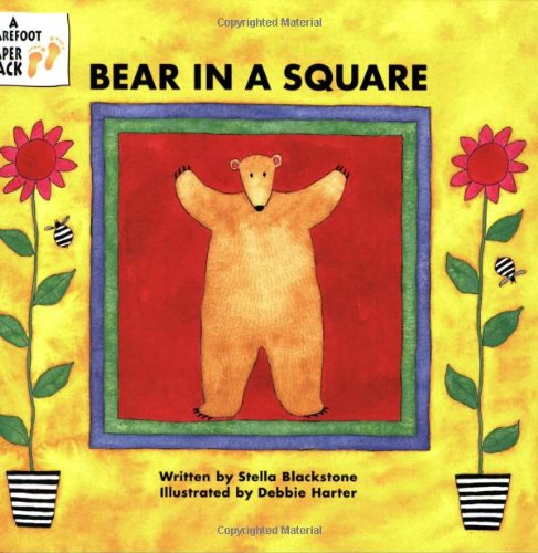 Stella Square - Bear in a Square (Bear Series)