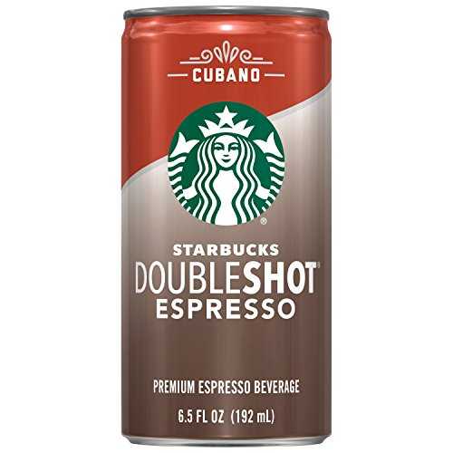 Starbucks Doubleshot, Cubano, 6.5 Ounce, 12 Count
