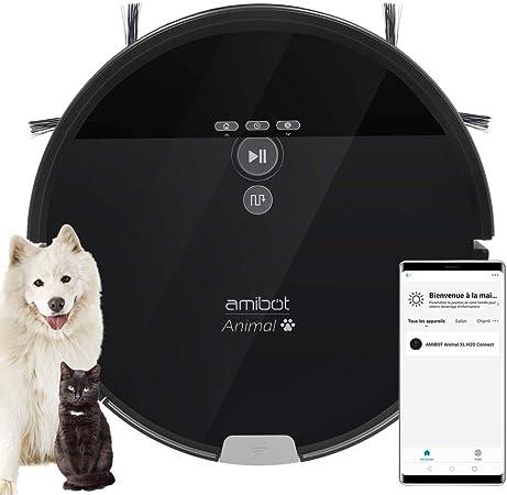 AMIBOT Animal XL H2O Connect - Robot Aspirador y friegasuelos: Amazon.es: Hogar