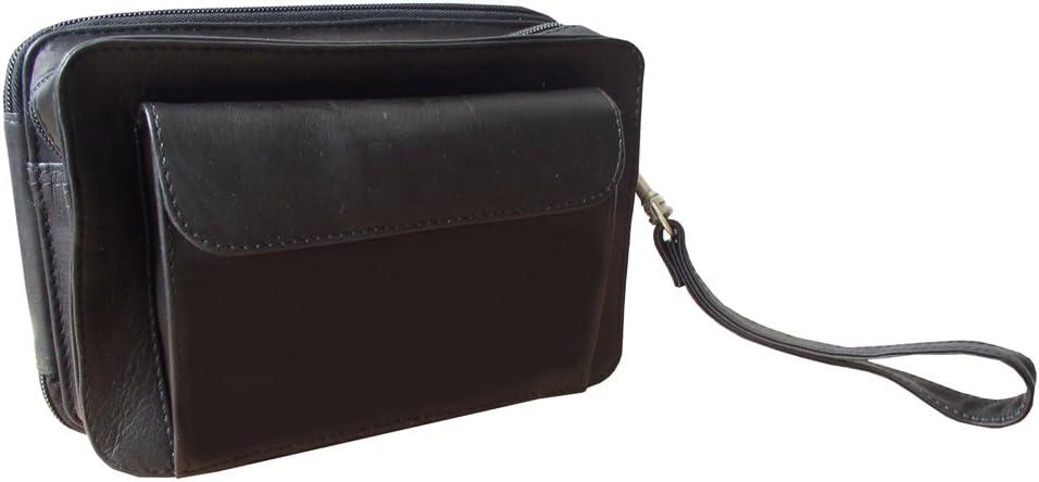Piel Leather Ranking TOP12 Denver Mall Organizer Bag Black One Size