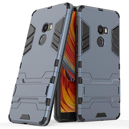 Funda para Xiaomi Mi Mix 2 (5,99 Pulgadas) 2 en 1 Híbrida Rugged Armor Case Choque Absorción Protección Dual Layer Bumper...
