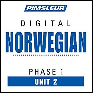 Norwegian Phase 1, Unit 02 Audiobook