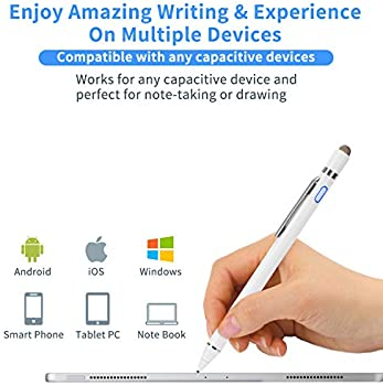 Broonel Silver Mini Fine Point Digital Active Stylus Pen Compatible with The TECLAST P80X/8 Tablet